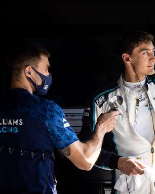 Mercedes escala Russell para testar pneus de 18 polegadas na Hungria