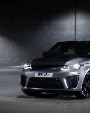 Range Rover Sport SVR ganha edição limitada por R$ 1 milhão