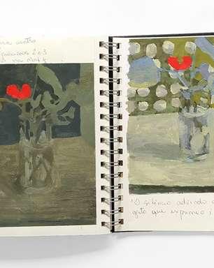 """Exposição """"Cadernos de Artista"""" revela pesquisas visuais de seus autores"""