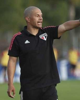 Alex fala sobre estreia do São Paulo no Paulista sub-20: 'Melhor expectativa possível'