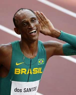 Alison dos Santos conquista o bronze nos 400m com barreiras