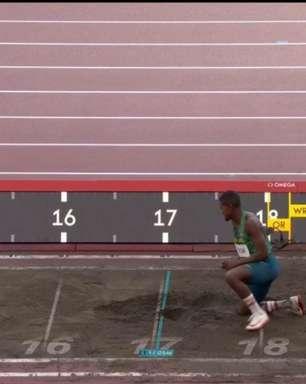 Brasileiros não avançam à final do salto triplo da Olimpíada