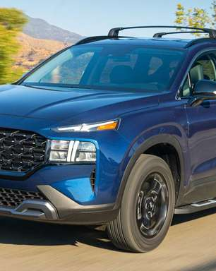 Cogitado no Brasil, Hyundai Santa Fe ganha versão XRT