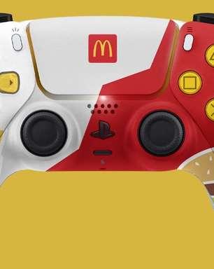 McDonalds imagina controle temático do PS5
