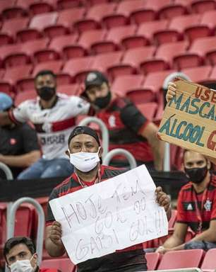 CBF cita 'equilíbrio técnico' e afirma que vai recorrer da liberação de público nos jogos do Flamengo