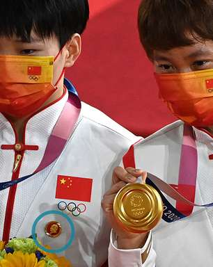 Olimpíada de Tóquio: as medalhistas chinesas investigadas por usar broches de Mao no pódio