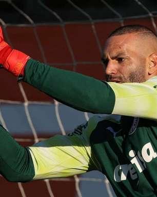 Sem sofrer gols há cinco jogos, Weverton exalta momento no Palmeiras: 'Estar aqui é para poucos'