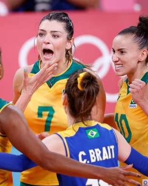 Feeling de Virna aponta o ouro para a Seleção feminina
