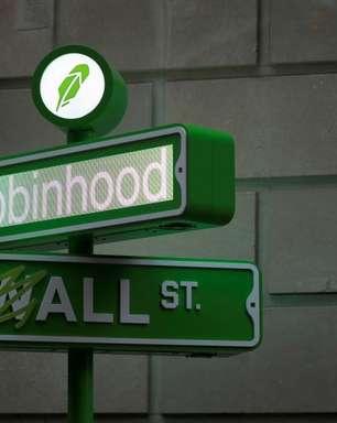Ações da Robinhood chegam a disparar mais de 80%
