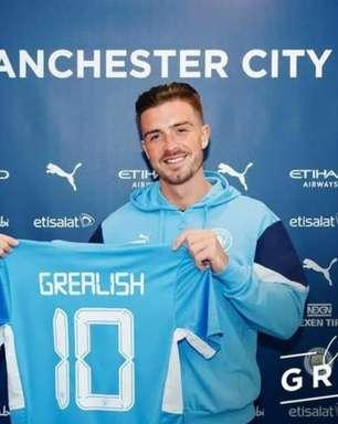 Manchester City anuncia a contratação de Jack Grealish, ex-Aston Villa