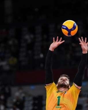 Bruninho lamenta derrota, mas valoriza disputa pelo bronze