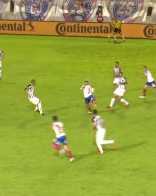 COPA DO BRASIL: Gols de Bahia 2 x 1 Atlético-MG
