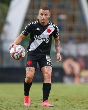 Após volta por cima, Bruno Gomes pode virar desfalque no Vasco contra o Vitória pela Série B. Entenda
