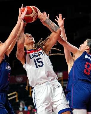 EUA arrasam as sérvias no basquete e buscarão hepta inédito