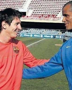"""""""La Liga poderia ter sido mais compreensiva"""", diz Rivaldo sobre saída de Messi do Barcelona"""