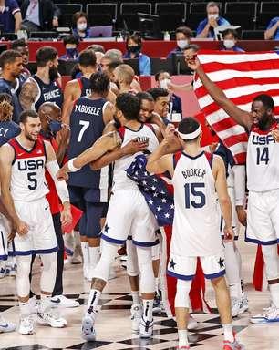 EUA vencem França e conquistam o tetra no basquete masculino