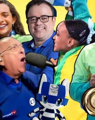 Olimpíada na TV foi antídoto ao triste noticiário da covid