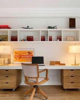 Escrivaninha Home Office: +63 Modelos para Escolher e Decorar
