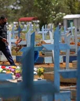 Brasil registra 537 mortes por covid-19 nas últimas 24h