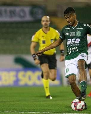 Volante Índio elogia força do Guarani nos últimos jogos e foca em partida contra o Goiás