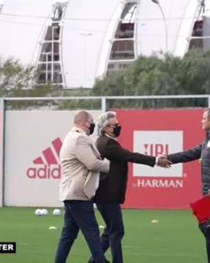 INTERNACIONAL: Jogadores fazem treino e são apresentados ao novo vice de futebol