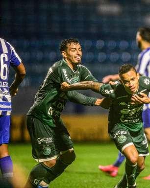 Goiás e Guarani se enfrentam em briga pelo G4