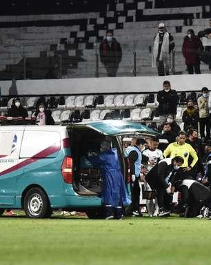 No hospital, jogador do Olimpia ironiza ao citar Arrascaeta