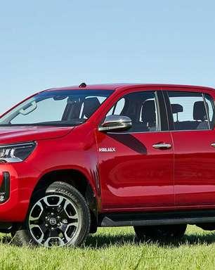 Picapes: Toyota Hilux reage e ultrapassa a Chevrolet S10