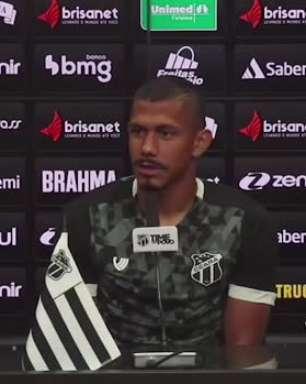 """CEARÁ: """"Disputado e truncado"""", avalia Fernando Sobral sobre partida fora de casa contra o Corinthians"""