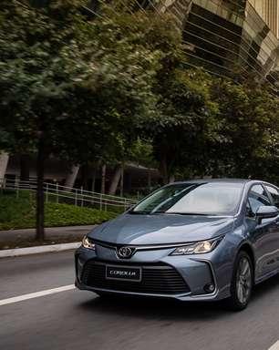 Toyota Corolla fica mais caro e ultrapassa os R$ 170 mil