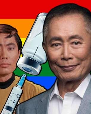 Ator gay de 'Star Trek' quer punição polêmica aos antivacina