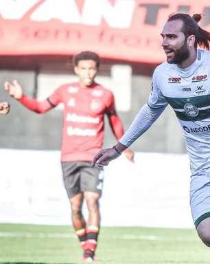Coritiba quer faturar o título do turno da Série B contra a Ponte Preta