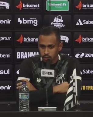 """CEARÁ: Lima comemora boa campanha da equipe no Brasileiro e garante: """"Queremos brigar até o fim na parte de cima da tabela"""""""