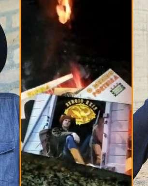 Fã revoltado queima discos do bolsonarista Sérgio Reis