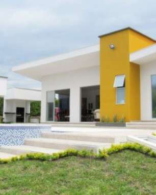 Cores para Fachada de Casas: +84 Ideias e Combinações para Sua Casa Moderna