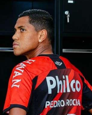 Athletico-PR anuncia a contratação do atacante Pedro Rocha
