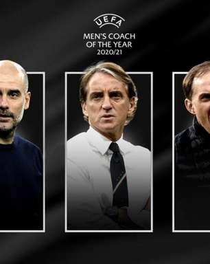 Premiação da Uefa tem Guardiola, Mancini e Tuchel finalistas
