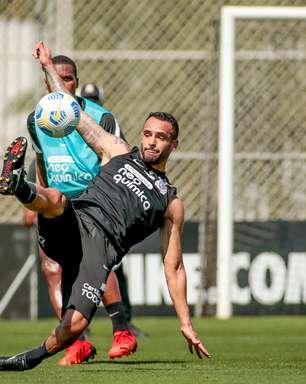 Corinthians tem retorno de Renato Augusto em treino tático