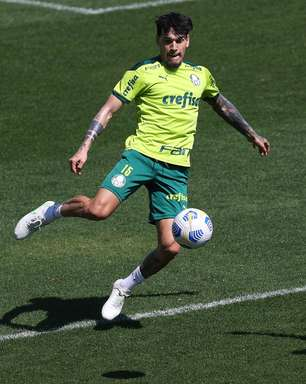Gómez celebra terceira semi de Libertadores pelo Palmeiras
