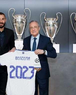 Real Madrid renova com Benzema e multa é de R$ 6,3 bilhões