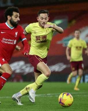 Liverpool x Burnley: onde assistir, horário e escalações do jogo da Premier League