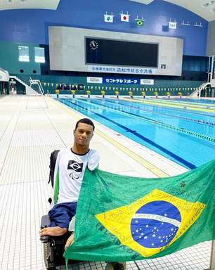 Paralimpíadas: nadadores brasileiros treinam pela 1ª vez