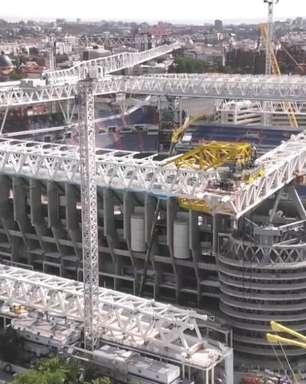Real volta ao remodelado Santiago Bernabéu após 560 dias