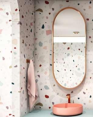 4 motivos para apostar no rose ao decorar o banheiro