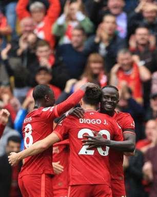 Liverpool domina Burnley e vence a 2ª na Premier League
