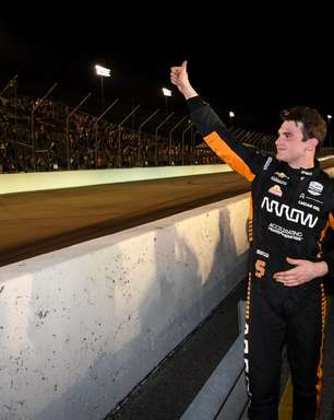 "Novo líder da Indy, O'Ward celebra 2º lugar em Gateway ""difícil de ultrapassar"""
