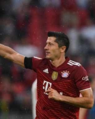 Bayern reage e vence a 1ª com gols de Lewandowski e Gnabry