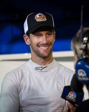 """""""Foi uma experiência muito boa"""", diz Grosjean sobre sua primeira corrida em oval na Indy"""