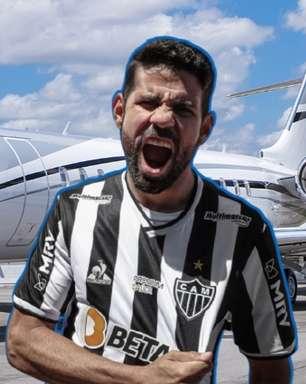 Jato de R$ 250 milhões de dono de TV transportou Diego Costa