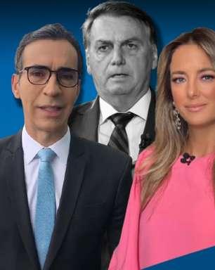 Bolsonaro deixa Tralli e Ticiane em lados opostos na TV